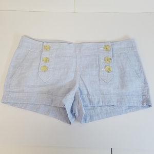 Express Shorts Light Blue Size 8